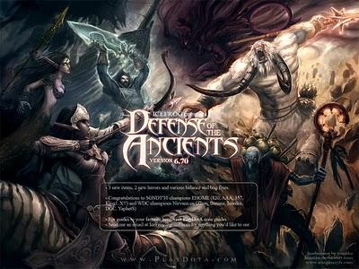 Warcraft 3: Frozen Throne Dota Allstars Дота Вселенная